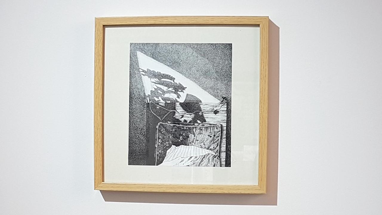 """Elsa Broustet """"La chambre"""" (2021), 22,5 x 19cm.  400 €"""