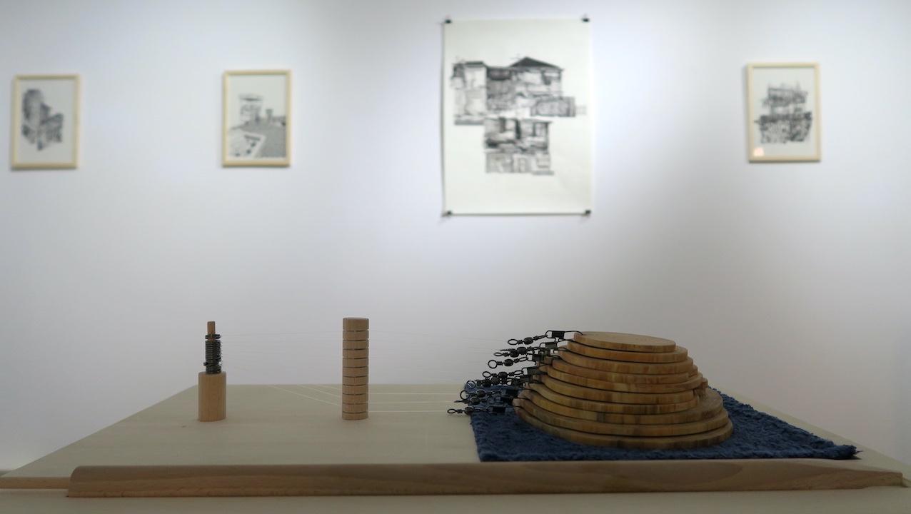 """Raphaël Galley, """"Bouchon"""" (2021), dispositif de création d'une oeuvre d'art Land Art aquatique. 3 000 €"""